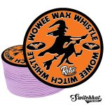 switchhat wowee whistle limited edition vintage halloween coasters