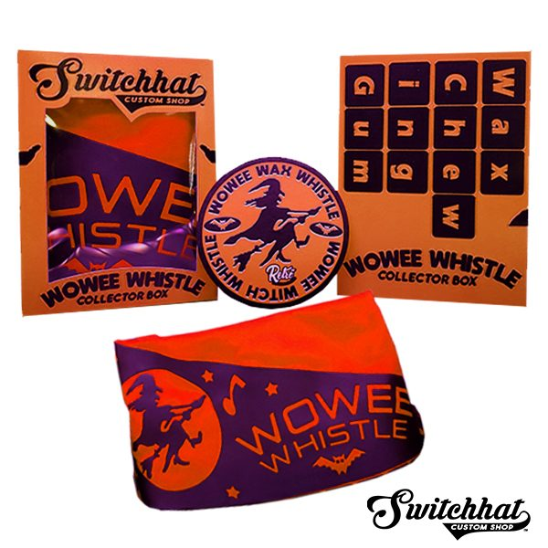 wowee wax whistle halloween collector box contents