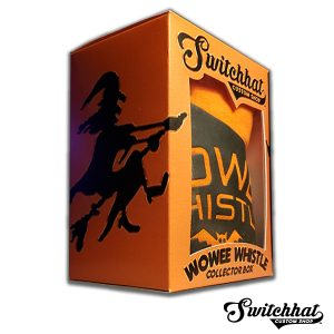 wowee wax whistle halloween collector box