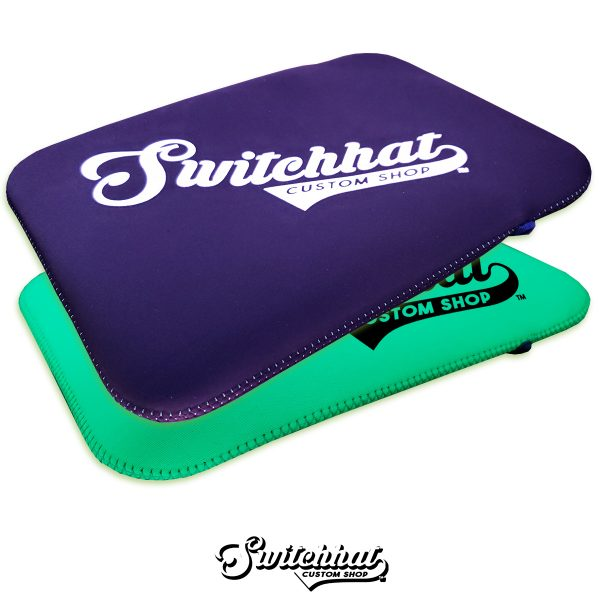 switchhat custom puff print neoprene tablet covers