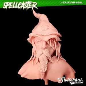 the spellcaster original polymer headsculpt front